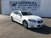 Clean CARFAX. AWD, Leather. White 26/19 Highway/City