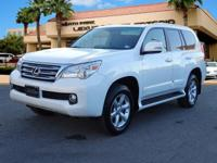 L/ Certified, ONLY 39,903 Miles! GX 460 trim. Moonroof,