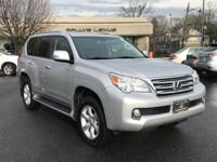 Options:  2013 Lexus Gx 460|Tungsten Pearl/Black|V8