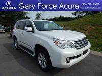 Our 2013 Lexus GX 460 4WD SUV in White is beautiful