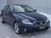 Options:  2013 Lexus Is 250|Cerulean Blue