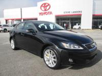 Recent Arrival! 2013 Lexus IS 250 2.5L V6 DOHC 24V