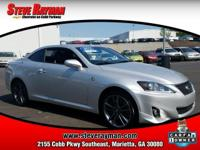 CARFAX 1-Owner. $300 below NADA Retail! IS 350C trim.