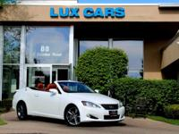 JUST TRADED SUPER CLEAN 2013 LEXUS IS250C CONVERTIBLE