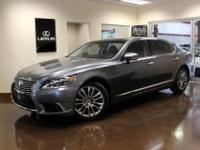 You are viewing a luxurious 2013 Lexus LS 460L with