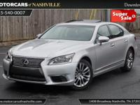 This 2013 Lexus LS 460 4dr 4dr Sedan RWD features a