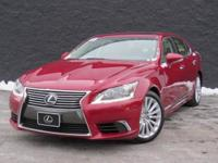 2013 Lexus LS 460 L. AWD and Parchment Leather. Gently
