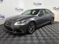 Recent Arrival! Lexus LS Nebula Gray Pearl 2013 Priced