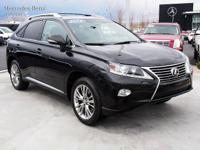 Clean One Owner 2013 Lexus RX 350 only has 80,370 miles