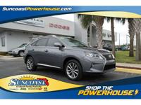 very clean trade in here at suncoast - this 2013 lexus