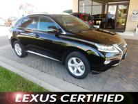 Lexus Certified, Clean, CARFAX 1-Owner, LOW MILES -