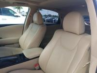 White 2013 Lexus RX 350 FWD 6-Speed Automatic with