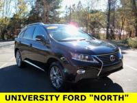 Carfax One-Owner. Clean CARFAX 2013 Lexus RX 350 Black
