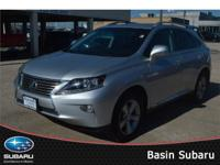 Refreshed for 2013, our exquisite Lexus RX 350 FWD