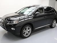 This awesome 2013 Lexus RX comes loaded with the