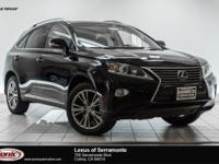Scores 25 Highway MPG and 18 City MPG! This Lexus RX