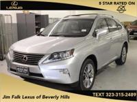 Options:  2013 Lexus Rx 350|Silver|Super Low