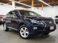 This 2013 Lexus RX 350 4dr AWD 4dr features a 3.5L V6