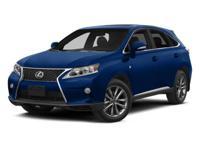 RX 350, L/Certified by Lexus, 3.5L V6 DOHC Dual VVT-i
