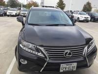 We are excited to offer this 2013 Lexus RX 350. This