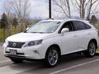 2013 Lexus RX 350. AWD and Black Leather. An