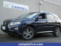 Lexus RX350 AWD w/Luxury Blind spot information. When