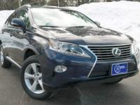 2013 Lexus RX, Deep Sea Mica, One Owner, Accident Free