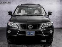 2013 Lexus RX 350. AWD and Parchment Leather. All's