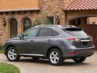 2013 Lexus RX 350. AWD and Black Leather. Gasoline!