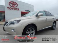 RX 350 AWD! ENTERTAINMENT SYSTEM! LUXURY PACKAGE! NAV!