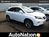 2013 Lexus RX 450h CERTIFIED HYBRID One Owner Clean