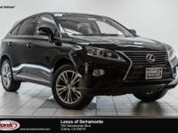 Scores 28 Highway MPG and 32 City MPG! This Lexus RX