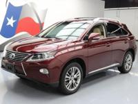 2013 Lexus RX with Premium Package,3.5L V6 gas/electric