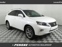 New Price! CARFAX One-Owner. Starfire Pearl 2013 Lexus