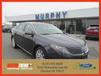 This outstanding example of a 2013 Lincoln MKS 4dr Sdn