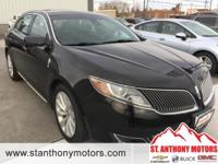 This Lincoln MKS has a 3.7 liter V6 Cylinder Engine