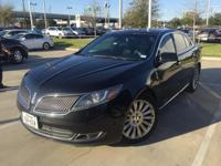 We are excited to offer this 2013 Lincoln MKS. CARFAX