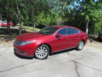 This 2013 Lincoln MKS 4dr 4dr Sedan 3.7L FWD features a