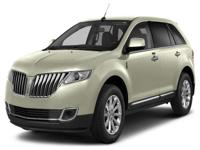 Options:  2013 Lincoln Mkx Base|This Is A Very Clean|1