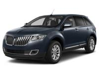 2013 Lincoln MKX NAVIGATION, LEATHER, CLEAN CARFAX, ONE