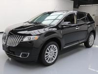 2013 Lincoln MKX with Elite Package,3.7L V6