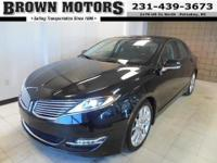 Lincoln Certified, ONLY 21,976 Miles! EPA 31 MPG Hwy/22