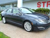 The 2013 Lincoln MKZ is the brand's first model using a