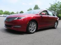 Gorgeous Lincoln Certified Lincoln MKZ in Ruby Red