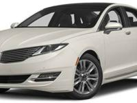 2013 Lincoln MKZ AWD, Tuxedo Black/Charcoal Black, V4
