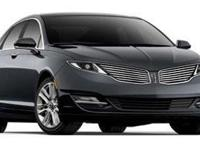 CARFAX One-Owner. Clean CARFAX. CHERRY 2013 Lincoln MKZ