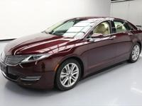 2013 Lincoln MKZ/Zephyr with 2.0L Ecoboost I4