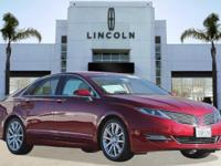Options:  2013 Lincoln Mkz 4Dr Sdn Fwd|Red/|V4 2.0L