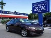 Options:  2013 Lincoln Mkz Base|Red|Turbo! Come To