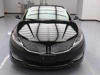 2013 Lincoln MKZ/Zephyr with 2.0L Turbocharged I4 GTDI